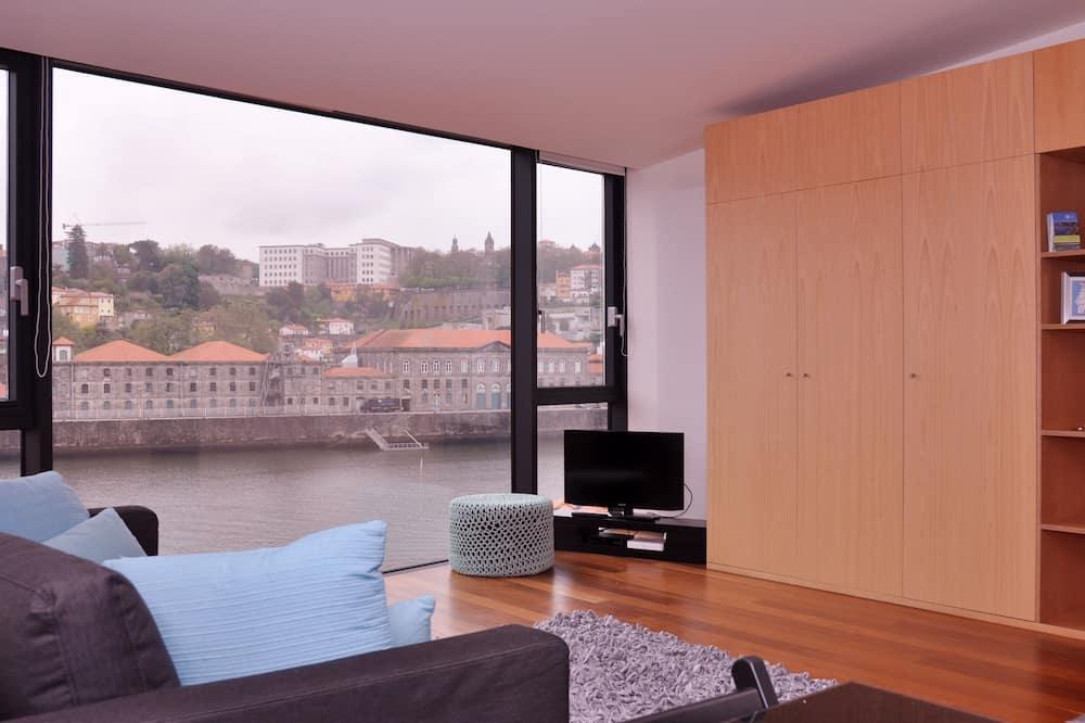 Estudio Premium, vistas al río - Zona de estar