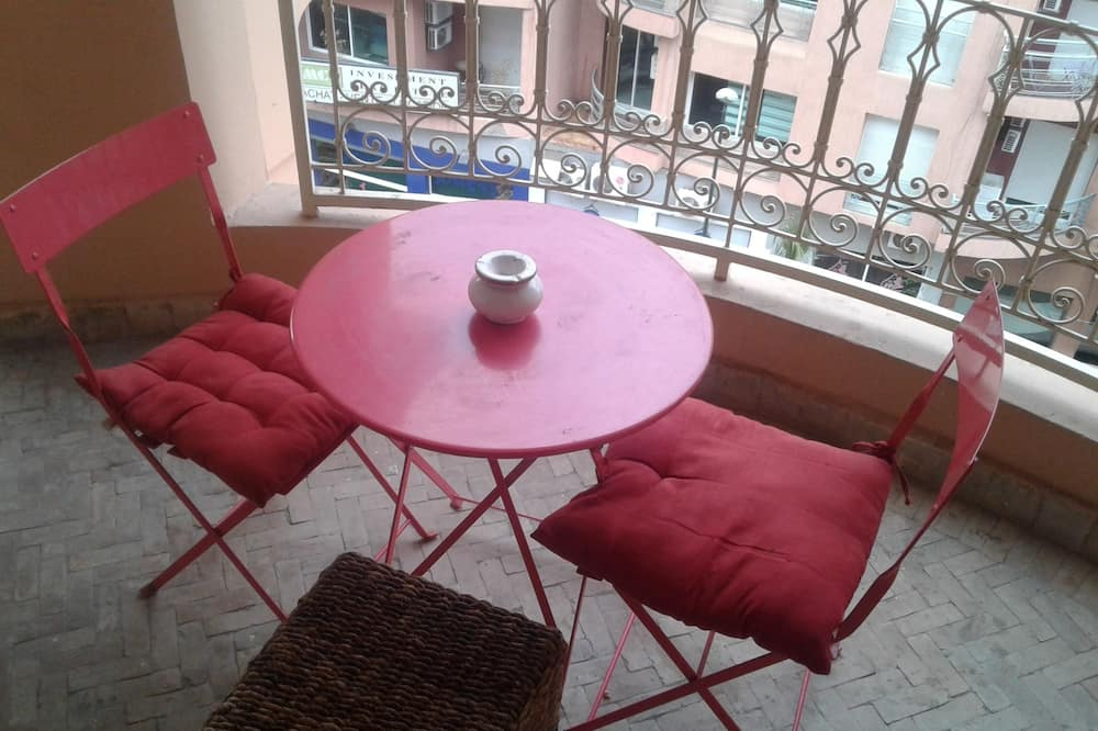 Pilsētklases dzīvokļnumurs - Balkons
