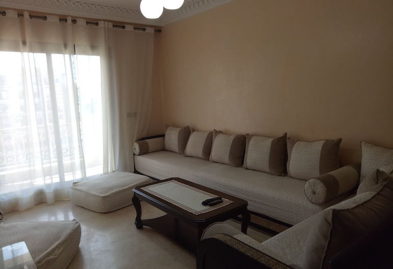 Résidence Mirams 2, Marrakesh, Apartemen Kota, Ruang Keluarga
