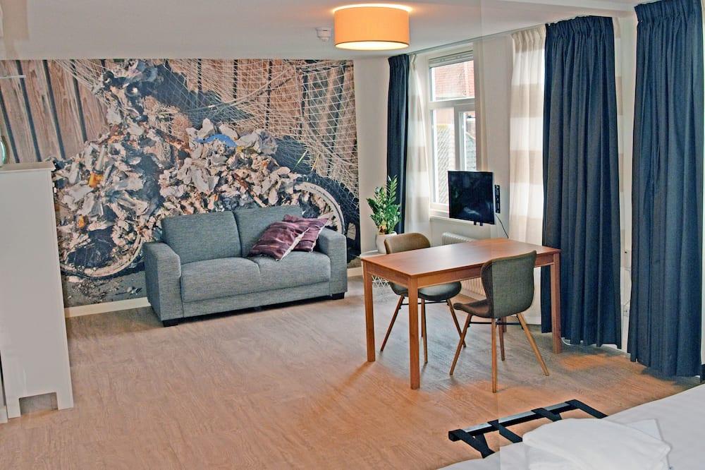 Suite estudio junior, 1 cama Queen size, para no fumadores, cocina (Oester) - Sala de estar