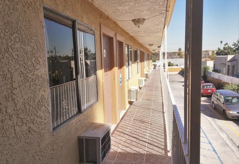 4 Star Motel, Los Angeles, Deluxe eenpersoonskamer, 1 kingsize bed, Balkon