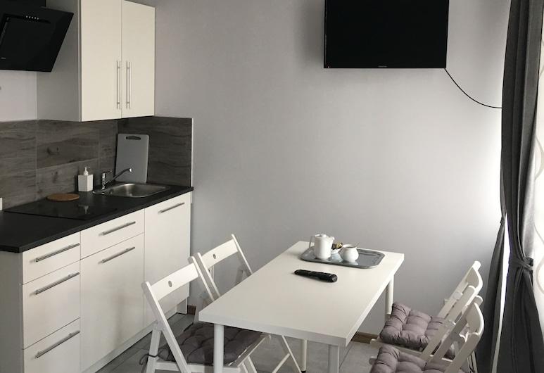 Ametyst Hostel, Krakow, Apartment, Kitchenette (dla 4 osób), Bilik Tamu