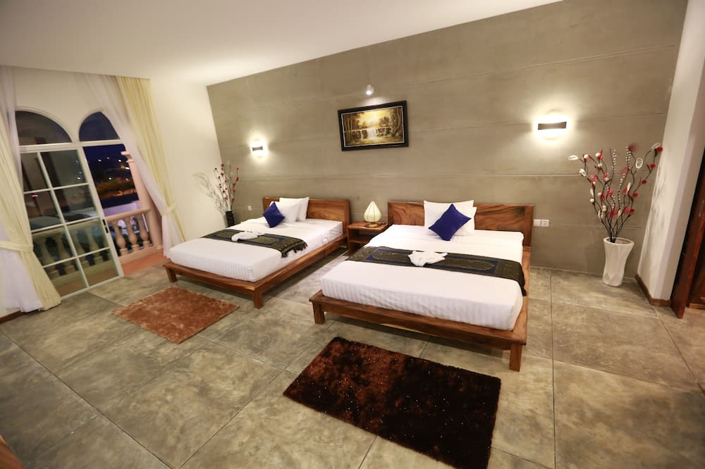 Deluxe Double or Twin Room, 1 Bedroom, Balcony - Guest Room View
