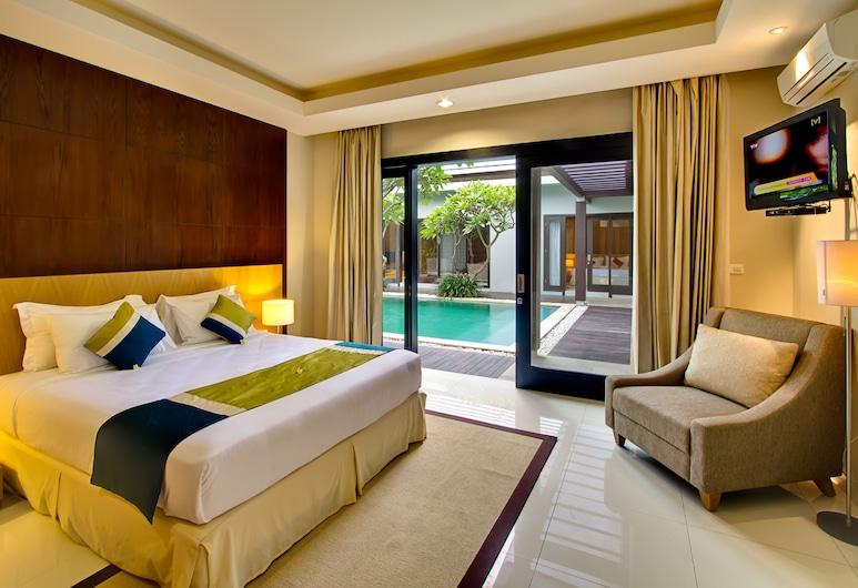 The Nibbana Villas, Seminyak, Share Pool & Kitchen Villa, 2 Bedroom, Pool View, Guest Room