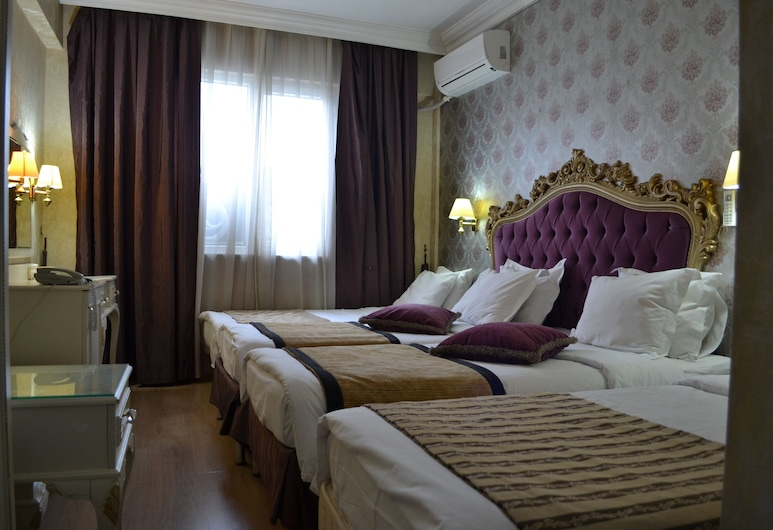 In Istanbul Hotel, איסטנבול, חדר משפחתי לארבעה, מספר מיטות, חדר אורחים