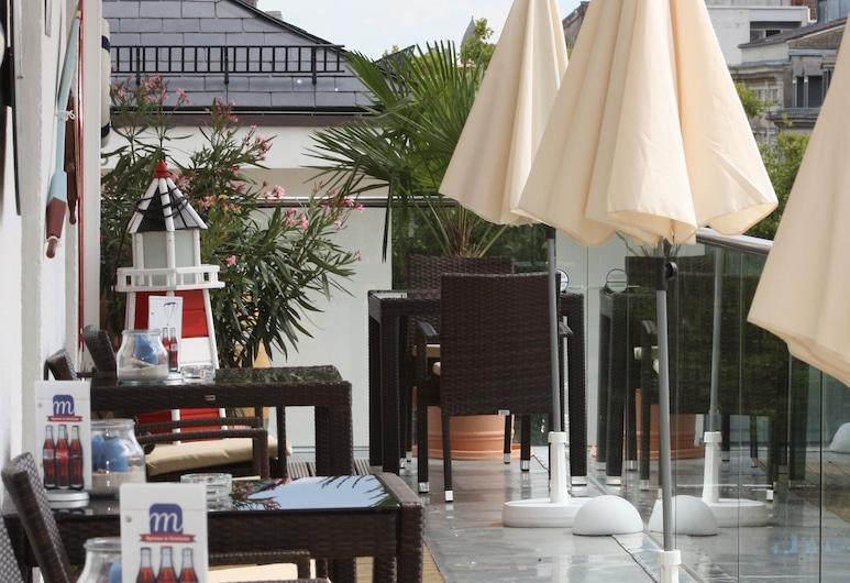 Hotel am Markt, Karlsruhe, Terraza o patio
