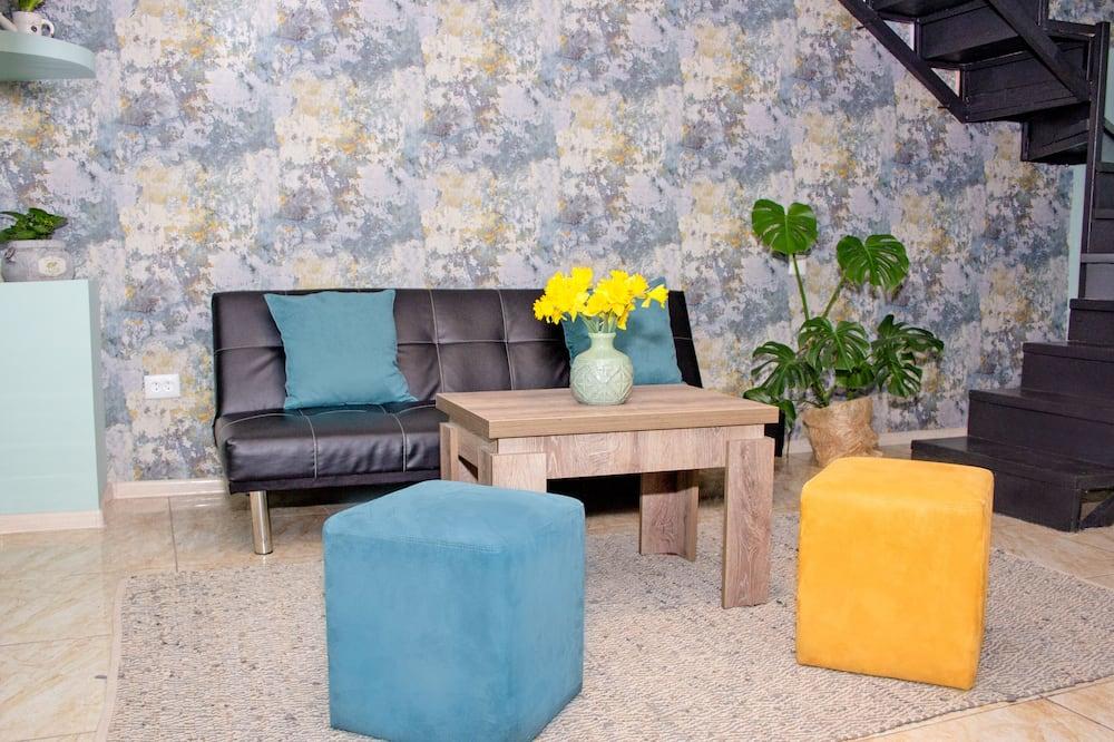 Habitación cuádruple Confort - Sala de estar
