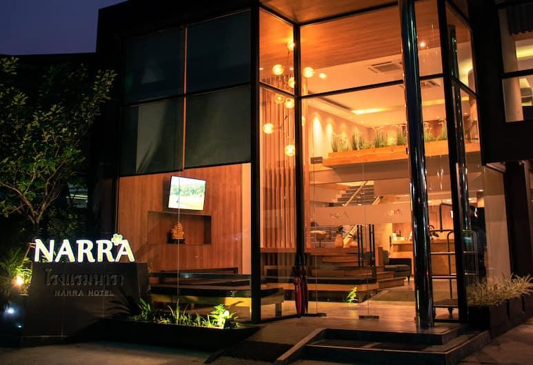 Narra Hotel, Bangkok, Hotel Front – Evening/Night