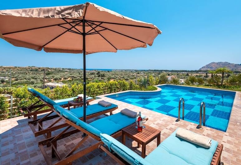 Kolymbia Village, Rhodes, Deluxe Suite, 2 Bedrooms, Private Pool, Sea View, Pemandangan Pantai/Lautan