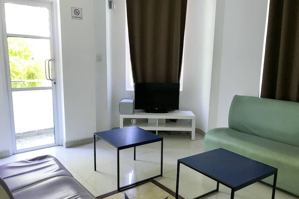 Habitación doble Deluxe, terraza - Sala de estar