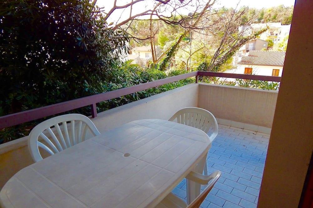 Departamento clásico, terraza - Terraza o patio