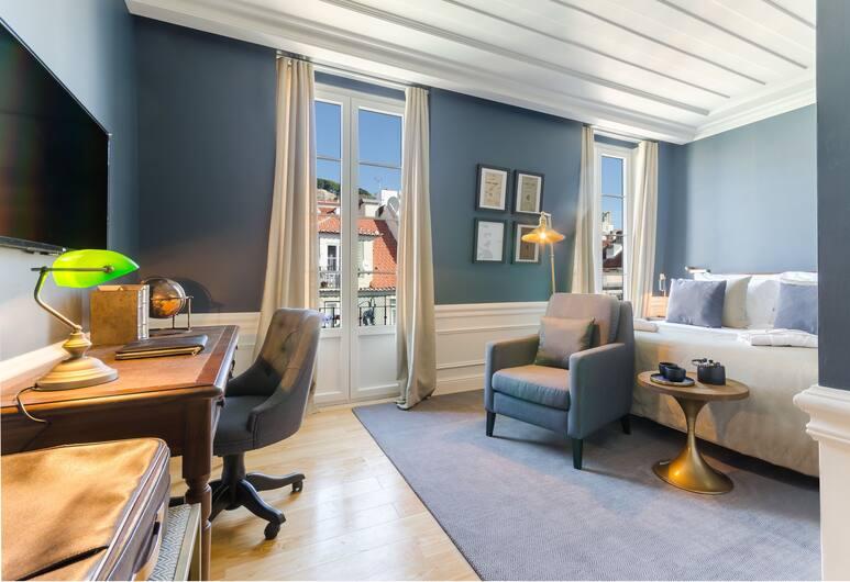 Hotel da Baixa, Lisbon, Deluxe Double or Twin Room, City View, Guest Room