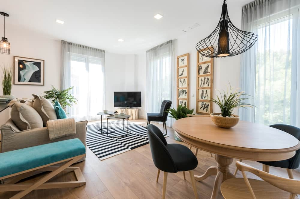Luxury Διαμέρισμα (Skyline) - Περιοχή καθιστικού