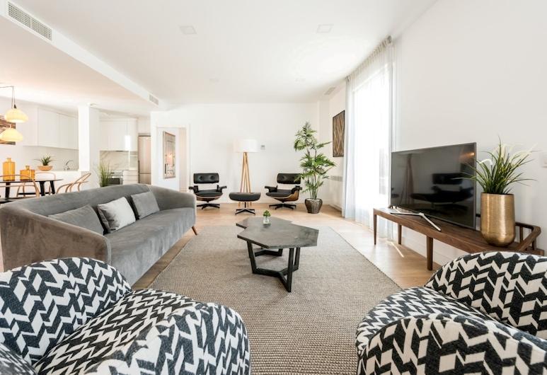 夥伴西班牙廣場酒店, 馬德里, 套房, 露台 (Skyline), 客廳