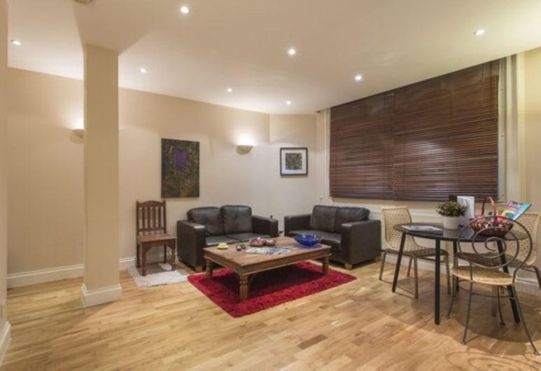 Urban Stay Liverpool Street Apartments, London, Premier-Apartment, 1 Schlafzimmer, Wohnzimmer