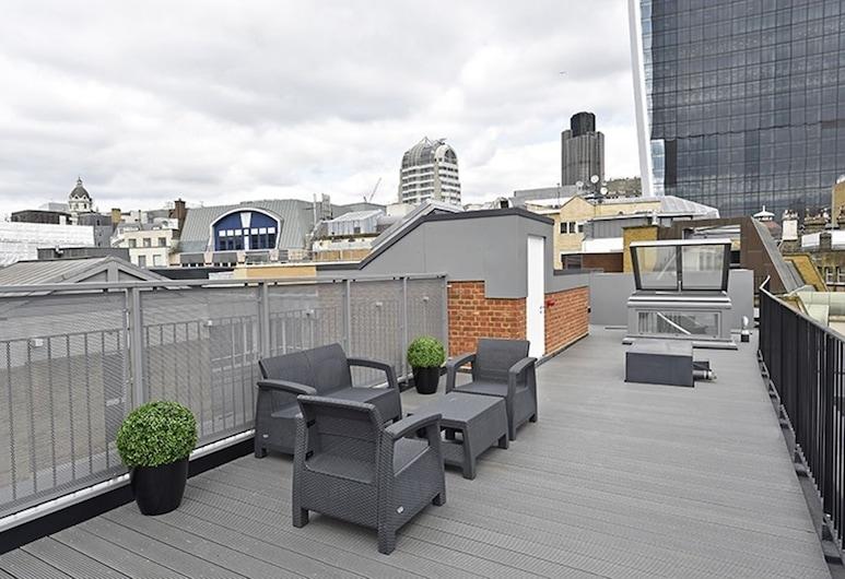 城市套房洛瓦特巷公寓旅館, 倫敦, 奢華頂層客房, 3 間臥室, 廚房, 城市景, 陽台