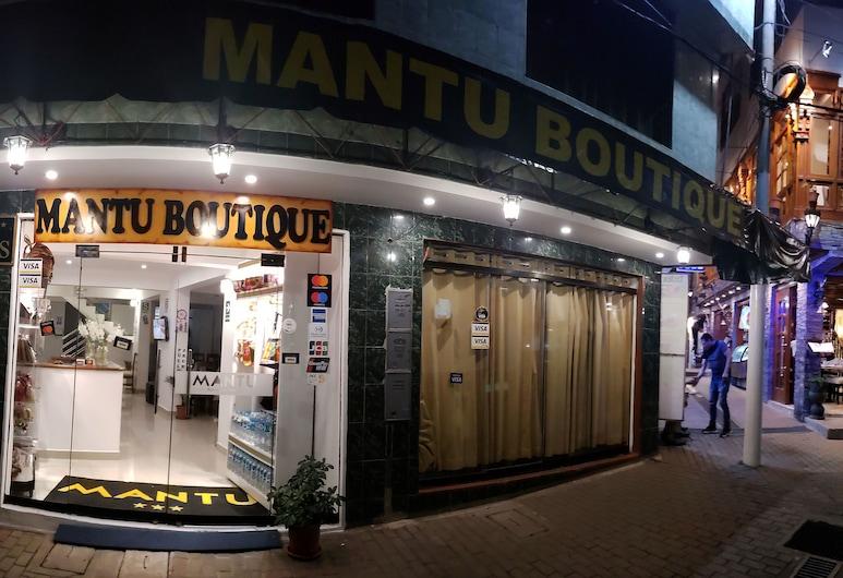 Mantu Boutique, Мачу Пикчу, Фасад отеля