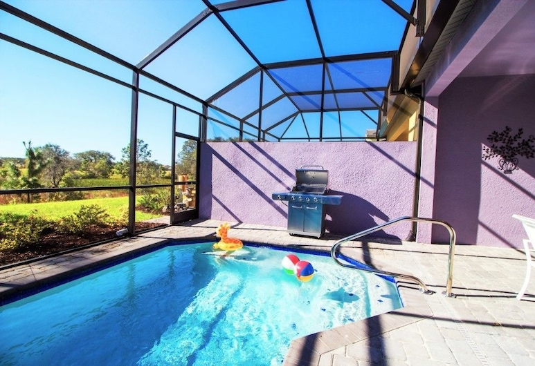 Festival Resort, Davenport, ACO Festival Resort 4 Bedroom Vacation Townhome with Pool (1745), Terrace/Patio