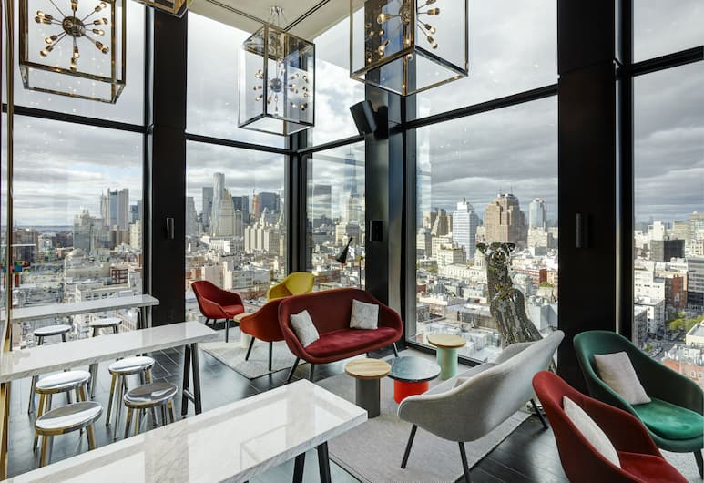 citizenM New York Bowery, New York, Hotelli baar
