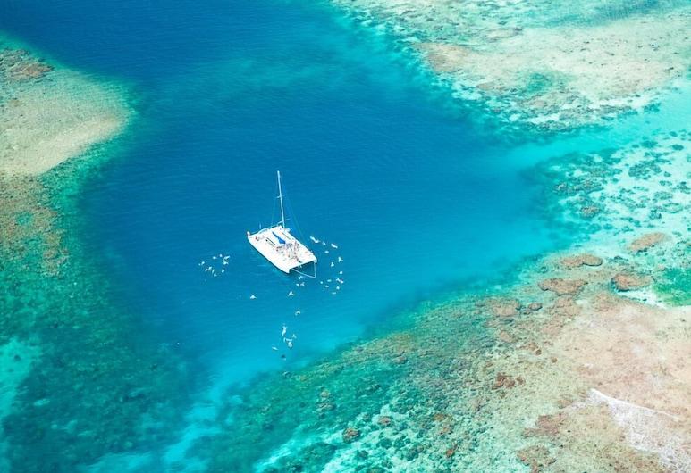 Plaja Pristine Bay bulundu��u ad��mlarla lüks 3 yatak odalı kınamak, Roatan, Plaj