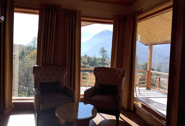 Baragarh Resort and Spa, Centrally Heated Mountain Side Resort, Manali, Kullu, Duplex, Multiple Beds, Balcony, Hill View, Guest Room