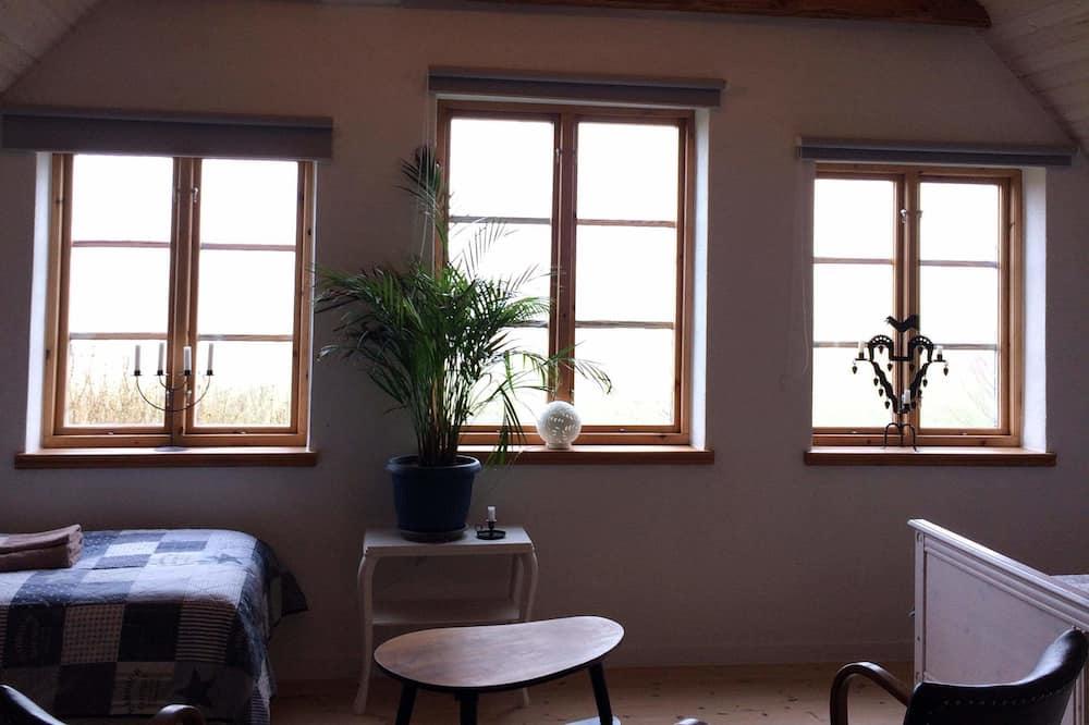 Habitación cuádruple, vista al mar (Örnen) - Sala de estar