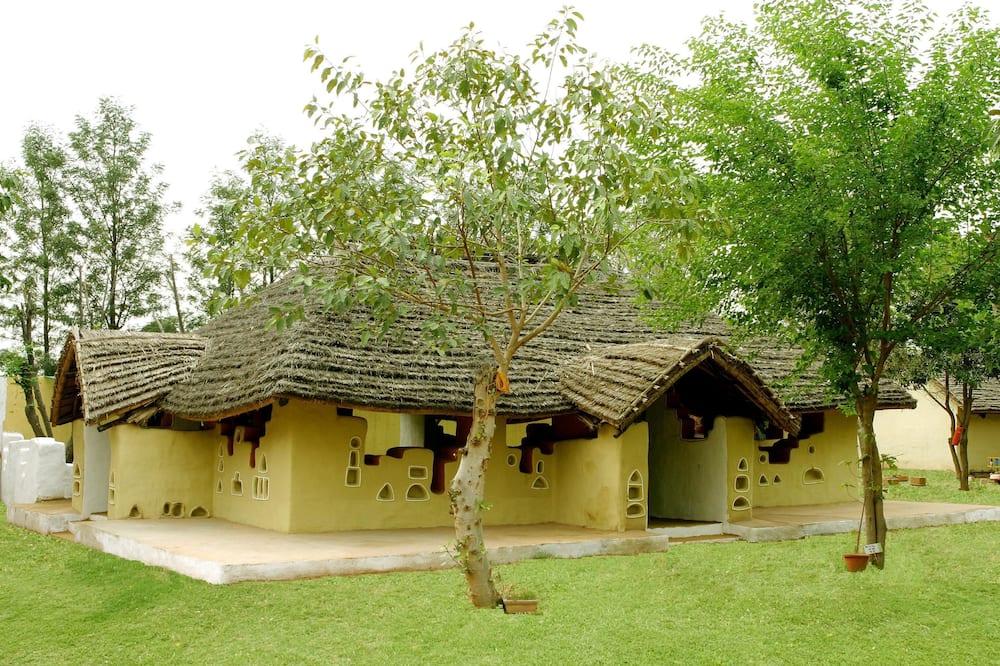 Habitación doble familiar, 1 cama Queen size, vista al jardín, con vista al jardín - Baño