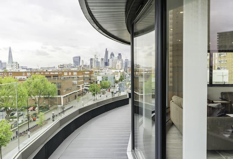 City Aldgate Apartments, London, Katusekorter, 2 magamistoaga, Rõdu