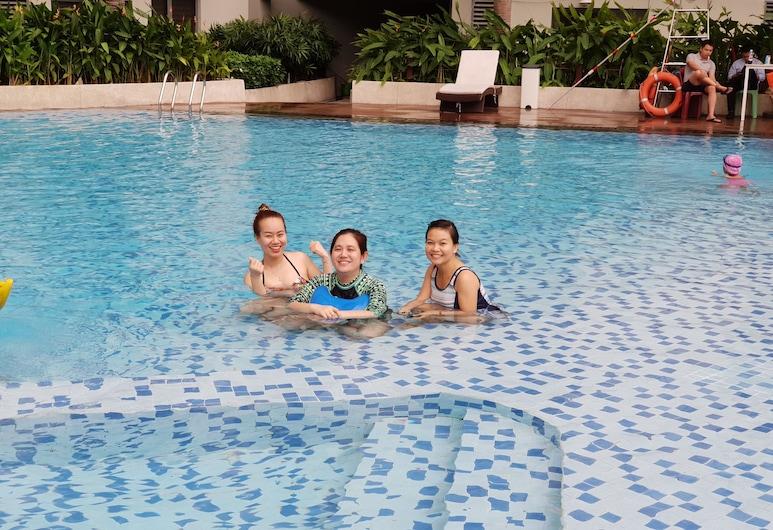 马斯特里邵殿美丽公寓酒店, 胡志明市, 室外游泳池