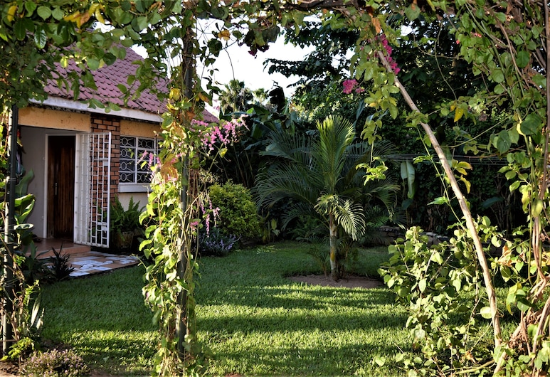 Colonial Residence, Entebbe, Einzelzimmer, Ausblick vom Zimmer