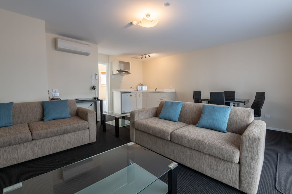 1 Bedroom Apartment - Upstairs  - Living Area