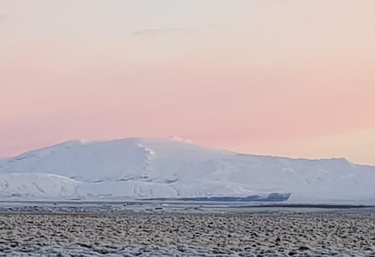 ヘクラ キャビン 1 ボルケーノ アンド グレイシャー ビュー, Rangárþing ytra, 施設からの景色