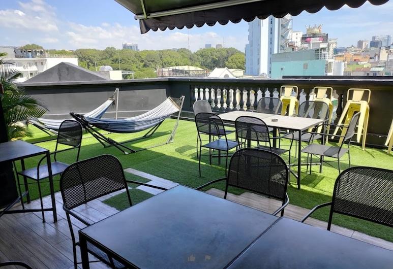 The Hammock Hotel Ben Thanh, Ciudad Ho Chi Minh, Terraza o patio