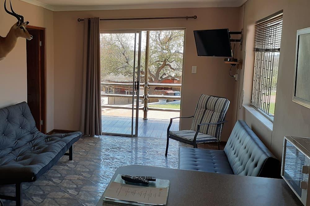 Chalet familiar, Varias camas - Sala de estar