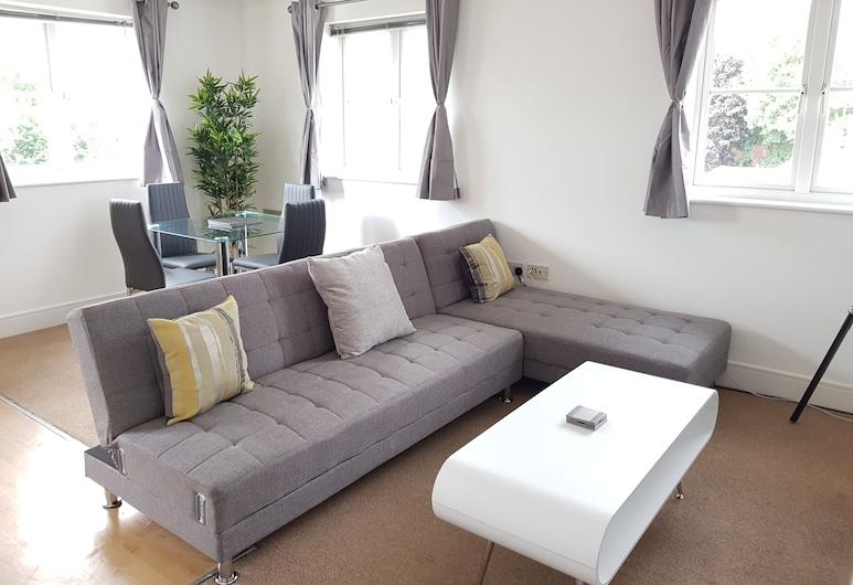 Coach house, Colchester, Executive Apartment, 2 Bedrooms, Kitchen, Bilik Rehat