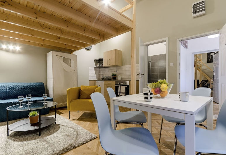 Cumin Apartments, Βουδαπέστη, Διαμέρισμα, 1 Υπνοδωμάτιο (Green Cumin), Περιοχή καθιστικού