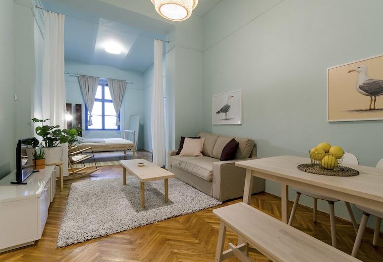 Shallot Apartments, Budapešť, Štúdio, Obývacie priestory