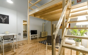 Budapeszt — zdjęcie hotelu Lime and Mint Apartments