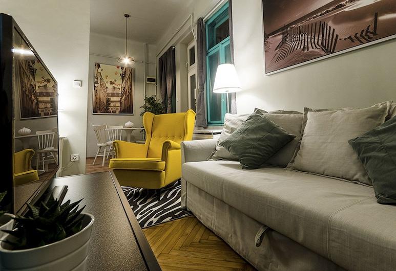 Saffron Apartment, Βουδαπέστη, Διαμέρισμα, 1 Υπνοδωμάτιο, Περιοχή καθιστικού