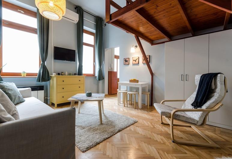 Cardamom Apartment, Βουδαπέστη, Διαμέρισμα, Περιοχή καθιστικού