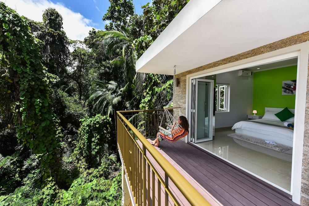 Vila Panorama, 1 kamar tidur, kolam renang pribadi, pemandangan samudra - Balkon