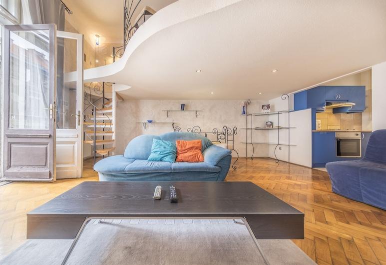 Cibere Apartment, Budapest, Apartment, 1 Bedroom, Living Area