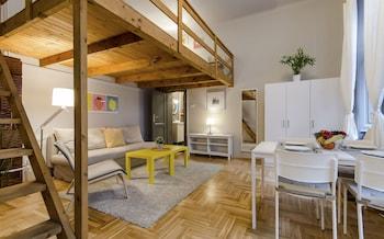 Budapeszt — zdjęcie hotelu Almond Apartment