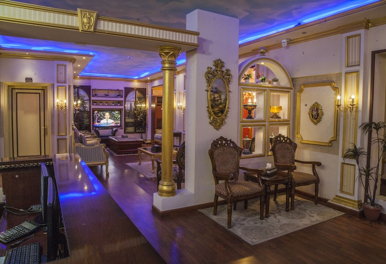 Essnad Furnished Units Al Haramain, Jedda, Sittområde i lobbyn