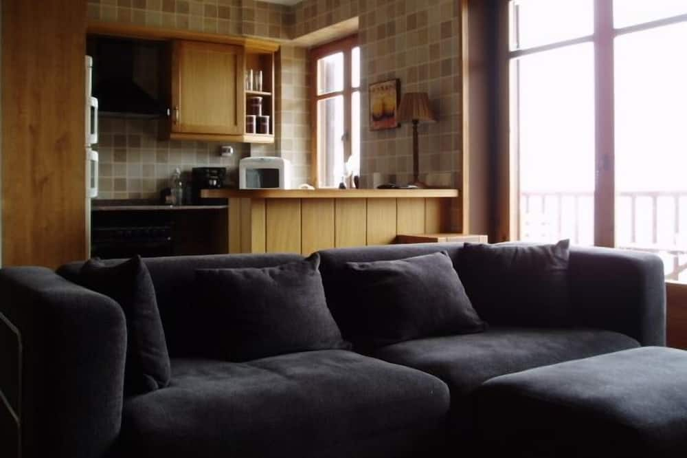 複式房屋, 3 間臥室, 露台, 山景 - 客廳