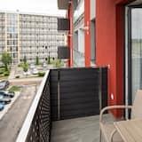 Apartamento de diseño, 1 habitación, balcón - Balcón