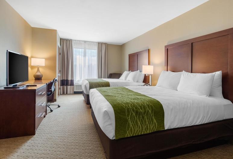 Comfort Inn & Suites at CrossPlex Village, Birmingham, Standard Room, 2 Queen Beds, Non Smoking, Guest Room
