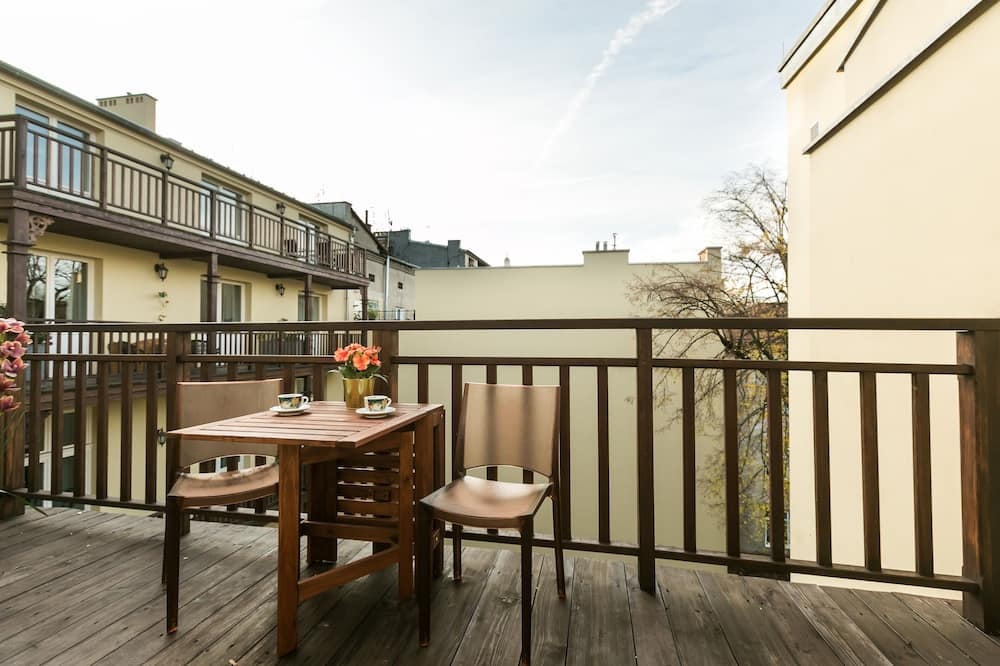 Apartmán typu City, balkón - Balkón