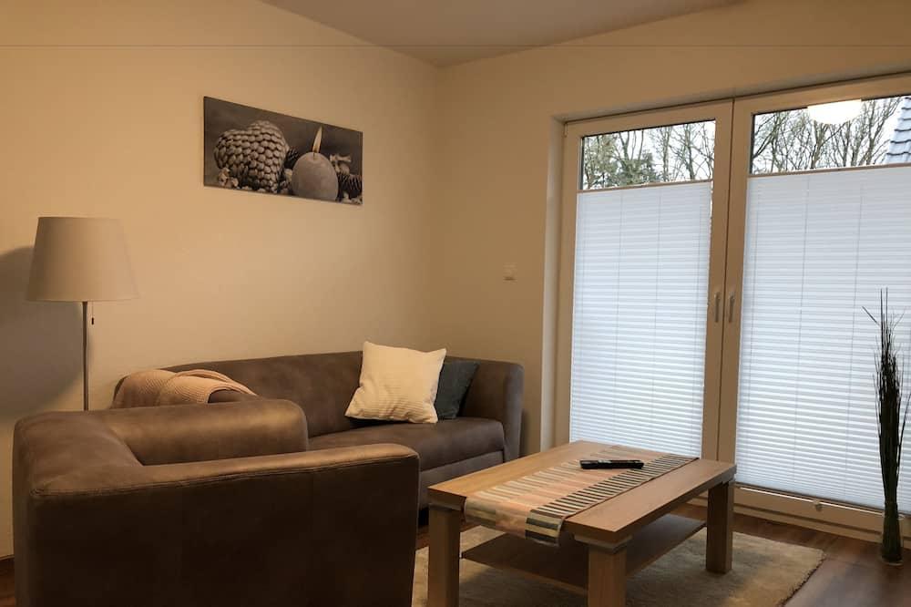 奢華公寓客房, 2 間臥室, 非吸煙房, 廚房 - 客廳