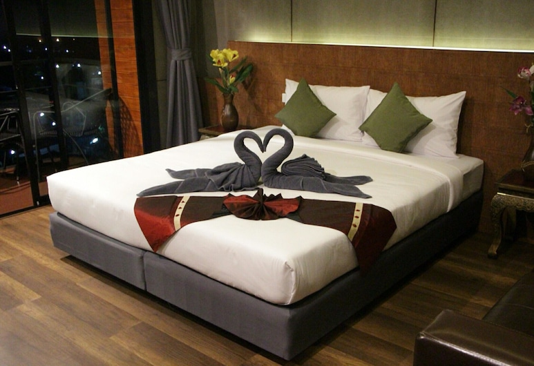 Blue Mountain Phangnga Resort, Phang Nga, Deluxe-Doppelzimmer, Zimmer